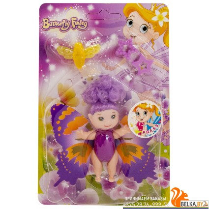 "Кукла ""Фея-бабочка"" «Qunxing Toys»"