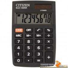 Калькулятор карманный SLD-100NR (8 разрядов) «CITIZEN»